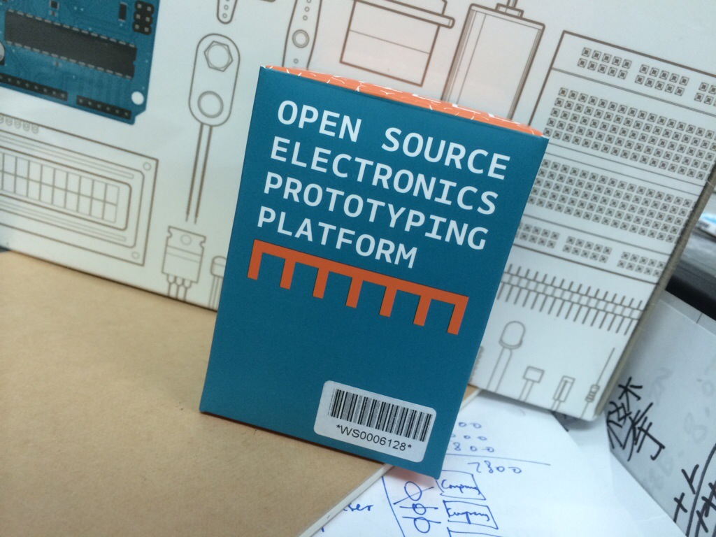 My first arduino starter kit photo and me